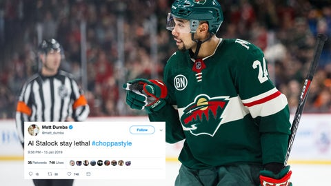 Matt Dumba, Wild defenseman