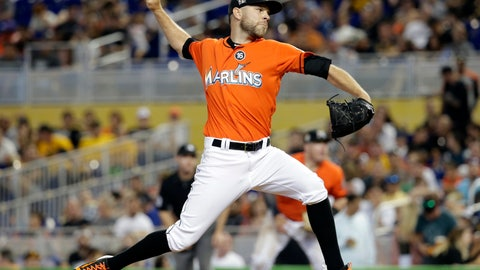 <p>               FILE - In this April 30, 2017, file photo, Miami Marlins relief pitcher David Phelps throws during the team's baseball game against the Pittsburgh Pirates in Miami. A person familiar with the negotiations tells The Associated Press that right-hander Phelps and the Toronto Blue Jays have agreed to a $2.5 million, one-year contract. The person spoke on condition of anonymity Thursday night, Jan. 10, 2019, because the deal had not yet been announced. (AP Photo/Lynne Sladky, File)             </p>