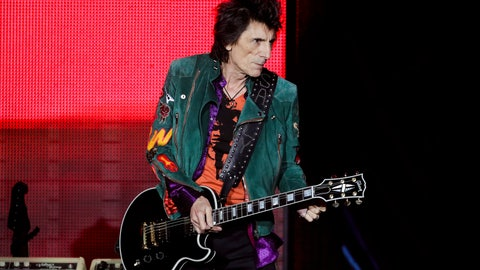<p>               FILE - In this Saturday, Sept. 9, 2017 file photo, Ronnie Wood of the Rolling Stones performs during the first concert of their 'No Filter' Europe Tour 2017 in Hamburg, Germany. Rolling Stones guitarist Ronnie Wood might have a shot at winning the world's most grueling steeplechase for the first time with a not so wild horse. British Grand National organizers say Wood's horse, Sandymount Duke, is among 112 entries that will be whittled down to 40 runners for the race on April 6. (AP Photo/Markus Schreiber, File)             </p>