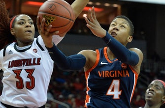 Balanced effort leads No. 4 Louisville in rout of Virginia