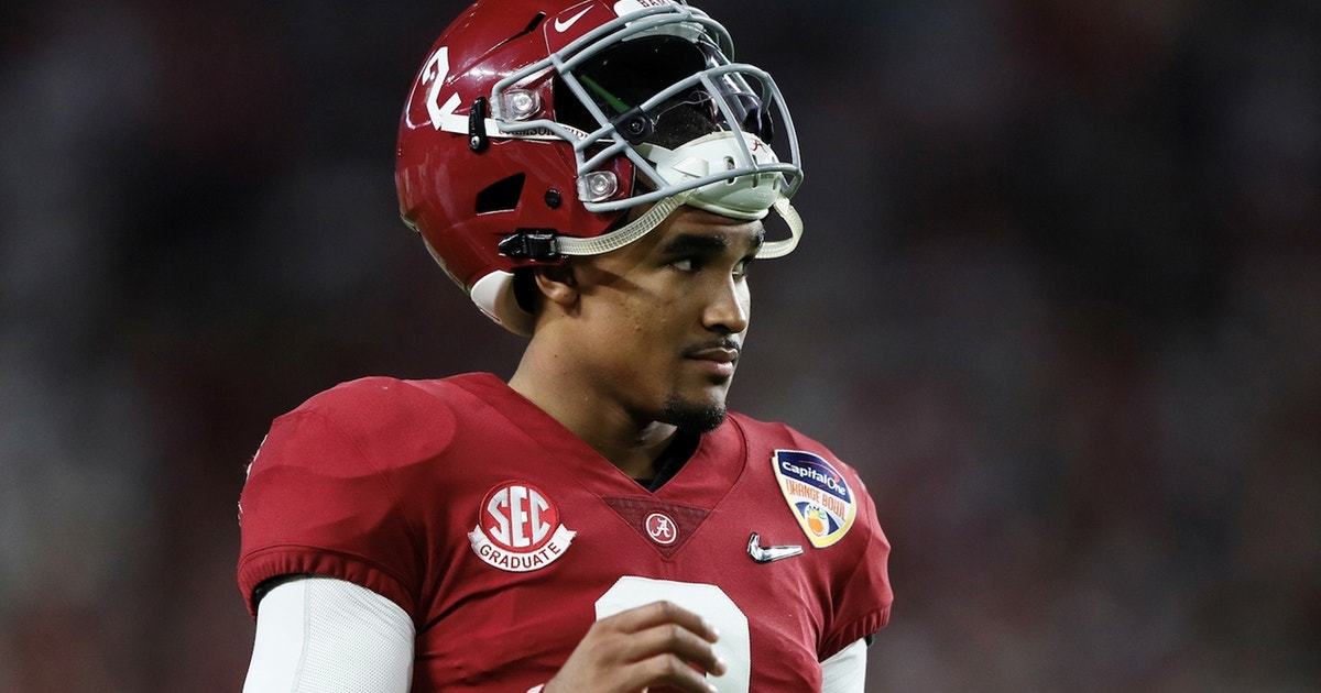 'I don't see it happening': Shannon Sharpe on Jalen Hurts' chances to win the Heisman at Oklahoma