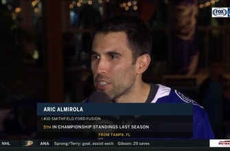 Aric Almirola on spending a day with Lightning, racing in the Daytona 500