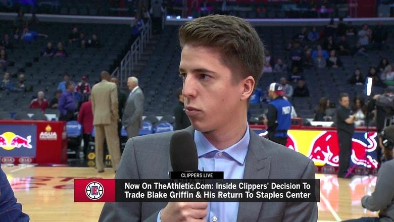 Blake Griffin trade to Detroit was 'best kept secret' says Jovan Buha