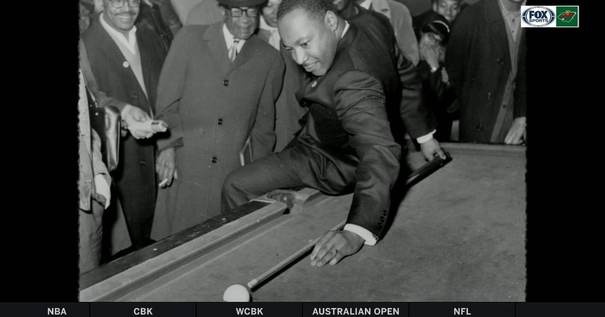 Martin Luther King Jr A Pool Shark For The People Fox Sports