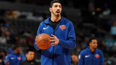 "<p>               FILE - In this Jan. 1, 2019, file photo, New York Knicks center Enes Kanter, of Turkey, warms up prior to the team's NBA basketball game against the Denver Nuggets, in Denver. Turkish media reports said Wednesday, Jan. 16, 2019, that Turkish prosecutors are seeking an international arrest warrant and had prepared an extradition request for Kanter, accusing him of membership in a terror organisation. Sabah newspaper said prosecutors were seeking an Interpol ""Red Notice"" citing Kanter's ties to Fethullah Gulen, who Turkey blames for a failed 2016 coup, and accusing him of providing financial support to the group. (AP Photo/David Zalubowski, File)             </p>"