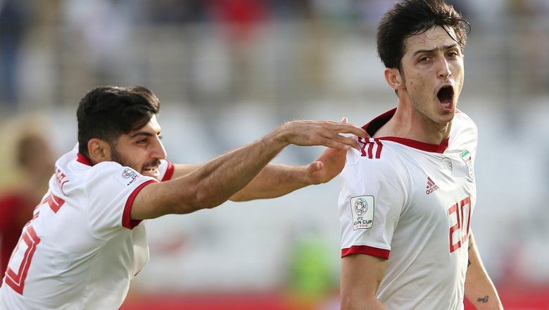 Iran beats Vietnam 2-0 for 2nd win at Asian Cup