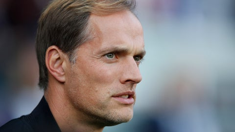 <p>               FILE - In this Oct. 20, 2018, file photo, PSG's coach Thomas Tuchel watches ahead of a French League One soccer match between Paris-Saint-Germain and Amiens at the Parc des Princes stadium in Paris. Tuchel needs Adrien Rabiot back in the side because an injury to Marco Verratti left Paris Saint-Germain seriously short of options in midfield. Verratti's injury is a major headache for Tuchel, who even before the injury made it very clear that he desperately needs another central midfielder to bolster his squad. (AP Photo/Francois Mori, File)             </p>