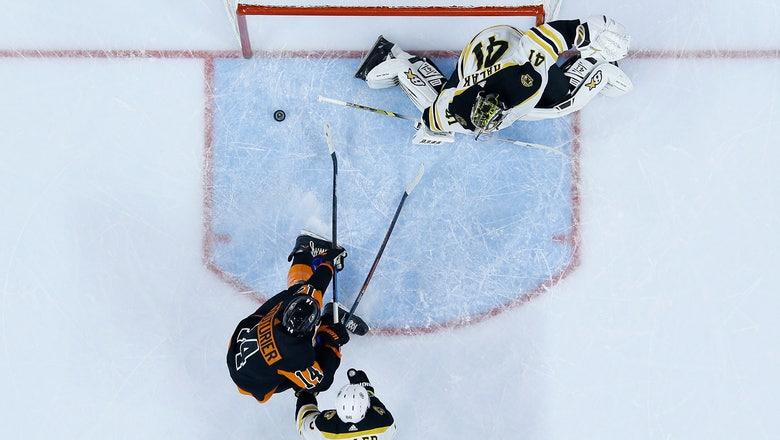 Sean Couturier has hat trick, Flyers beat Bruins 4-3