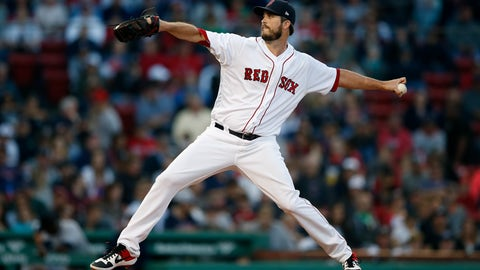 <p>               FILE - In this Sept. 30, 2018, file photo, Boston Red Sox's Drew Pomeranz pitches during the eighth inning of a baseball game against the New York Yankees, in Boston. Left-hander Drew Pomeranz has agreed to a one-year contract with the San Francisco Giants. The club announced Pomeranz's deal Wednesday, Jan. 23, 2019. (AP Photo/Michael Dwyer, File)             </p>
