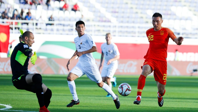 China opens Asian Cup with 2-1 victory over Kyrgyzstan
