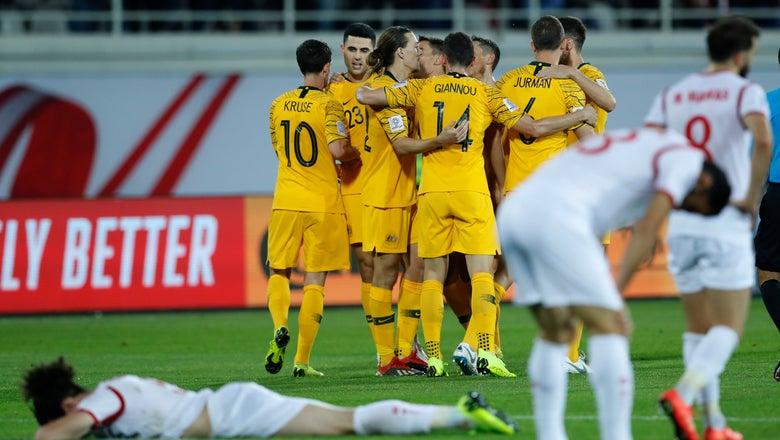 Australia beats Syria 3-2, advances to last 16 at Asian Cup