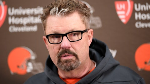 <p>               FILE - In this Dec. 30, 2018, file photo, Cleveland Browns head coach Gregg Williams speaks at a news conference after an NFL football game against the Baltimore Ravens, in Baltimore. Gregg Williams has been hired, Wednesday, Jan. 16, 2019, as the New York Jets' defensive coordinator, the first major staff addition by Adam Gase since he became coach. (AP Photo/Nick Wass, File)             </p>