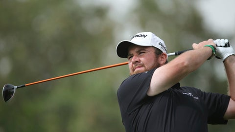 <p>               Shane Lowry of Ireland tees off on the 3rd hole in the final round of the Abu Dhabi Championship golf tournament in Abu Dhabi, United Arab Emirates, Saturday, Jan. 19, 2019. (AP Photo/Kamran Jebreili)             </p>