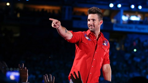 <p>               FILE - In this June 8, 2018, file photo, Country music singer Jake Owen performs at the 2018 CMA Music Festival at Nissan Stadium in Nashville, Tenn. Owen will perform a pre-race concert ahead of the Daytona 500 auto race at Daytona International Speedway on Feb. 17. (Photo by Laura Roberts/Invision/AP, File)             </p>