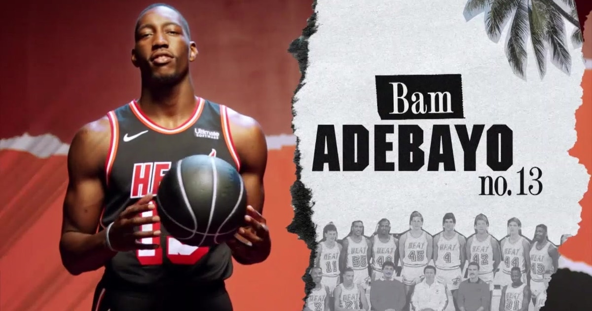 My Number  Miami Heat s Bam Adebayo on his jersey number  fc26dbe16