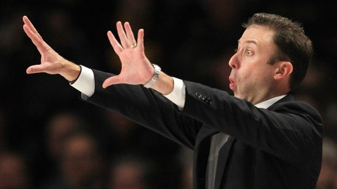 <p>               Minnesota head coach Richard Pitino implores his team against Iowa in the second half during an NCAA college basketball game Sunday, Jan. 27, 2019, in Minneapolis. Minnesota defeated Iowa 92-87. (AP Photo/Andy Clayton-King)             </p>