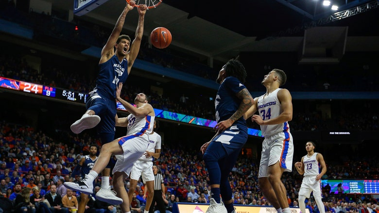 Martin's 3 lifts No. 10 Nevada over Boise State 72-71