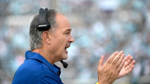 <p>               FILE - In this Dec. 3, 2017, file photo, then-Indianapolis Colts coach Chuck Pagano calls out encouragement during the first half of the team's NFL football game against the Jacksonville Jaguars in Jacksonville, Fla. The Bears hired former Colts coach Pagano to replace Vic Fangio as defensive coordinator Friday, Jan. 11, 2019, hoping he can help them build on what they accomplished this season. Pagano inherits one of the NFL's stingiest defenses after Fangio left to take the Denver Broncos' head coaching job. (AP Photo/Phelan M. Ebenhack, File)             </p>