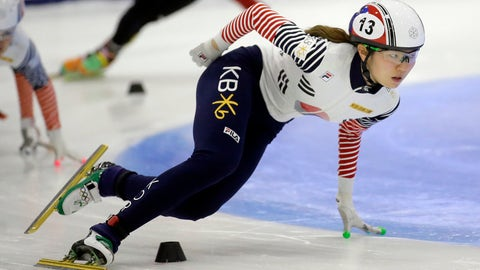 <p>               FILE - In this Nov. 13, 2016, file photo, first place finisher Shim Suk-hee, from South Korea, races during the women's 1,500-meter finals at a World Cup short track speedskating event at the Utah Olympic Oval in Kearns, Utah. More South Korean female skaters are saying they have been sexually abused by their coaches following explosive claims by two-time Olympic champion Shim that she had been raped by her former coach since she was a teen, according to group representing athletes on Monday, Jan. 21, 2019. (AP Photo/Rick Bowmer, File)             </p>