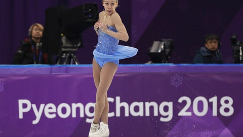 <p>               FILE - In this Feb. 23, 2018, file photo, Bradie Tennell of the United States performs during the women's free figure skating final at the 2018 Winter Olympics in Gangneung, South Korea. The whirlwind rise of Tennell began at last year's U.S. Figure Skating Championships, where the sprightly teenager stunned a field of veterans to claim her first national title, and with it a spot on the American team headed to the Winter Olympics. Now she's back to defend her American title this week in Detroit, this time as the favorite.(AP Photo/David J. Phillip, File)             </p>