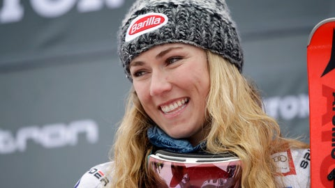 <p>               FILE - In this Nov. 25, 2018, file photo, United States' Mikaela Shiffrin smiles after winning the women's World Cup slalom ski event in Killington, Vt. Returning to the venue of her first World Cup win in 2012, Shiffrin will be a multi-medal threat at the Feb. 5-17 world championships in Are, Sweden.  (AP Photo/Charles Krupa, File)             </p>