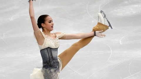 <p>               Russia's Alina Zagitova performs in the ladies short program at the ISU European figure skating championships in Minsk, Belarus, Wednesday, Jan. 23, 2019. (AP Photo/Sergei Grits)             </p>