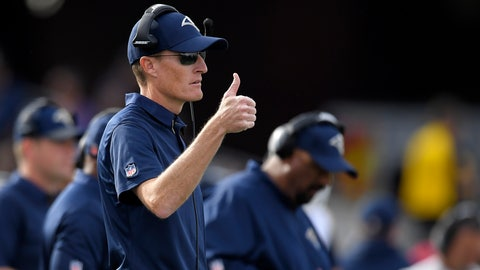 <p>               FILE - In this Dec. 10, 2017, file photo, Los Angeles Rams special teams coordinator John Fassel gestures during an NFL football game against the Philadelphia Eagles, in Los Angeles. Fassel's fingerprints were all over the Rams' NFC championship game victory, from the fake punt to the 57-yard winning field goal. Los Angeles' peerless special teams coordinator isn't saying whether he's cooking up something for the Super Bowl, but Fassel's units are a major part of the Rams' success. (AP Photo/Mark J. Terrill, File)             </p>