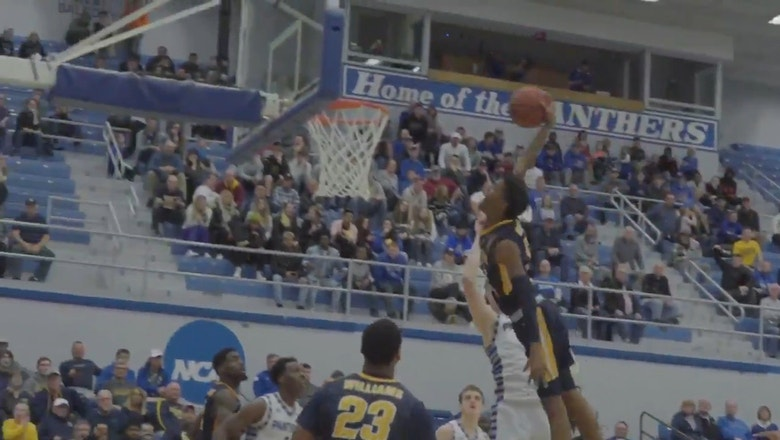 Murray State's Ja Morant posterizes Eastern Illinois defender