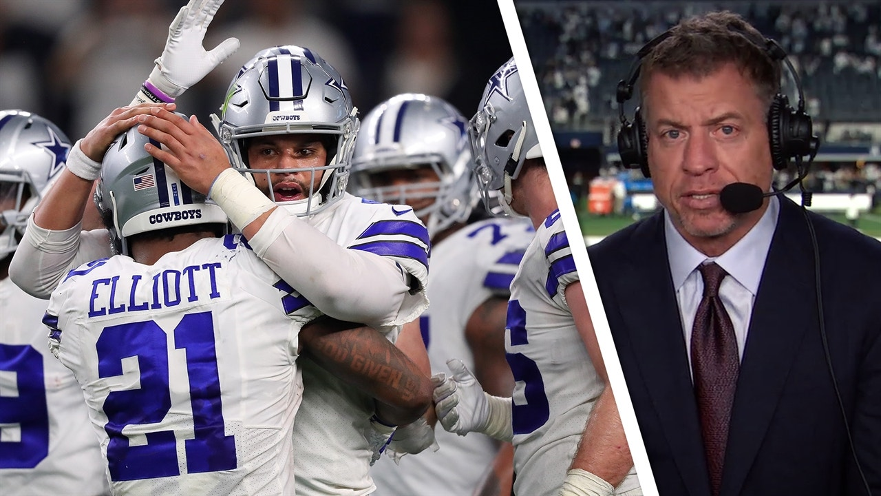Troy Aikman  The Dallas Cowboys advanced by following their winning formula   101a78f2e