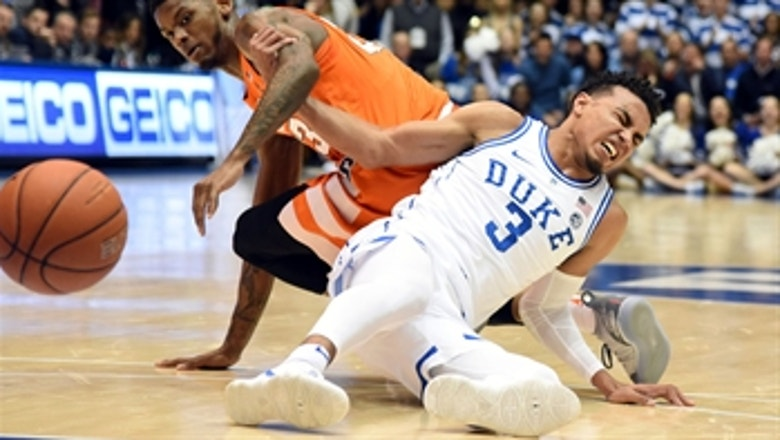 No.1 Duke falls to Syracuse in OT after losing Jones to injury