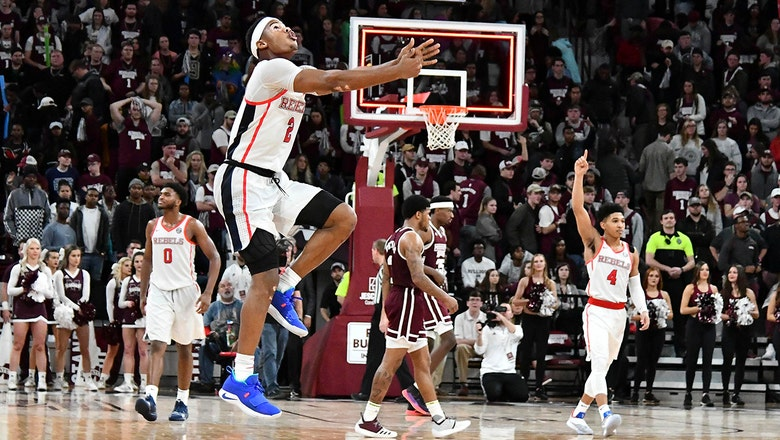 Ole Miss rallies late to knock off No. 14 Mississippi State 81-77