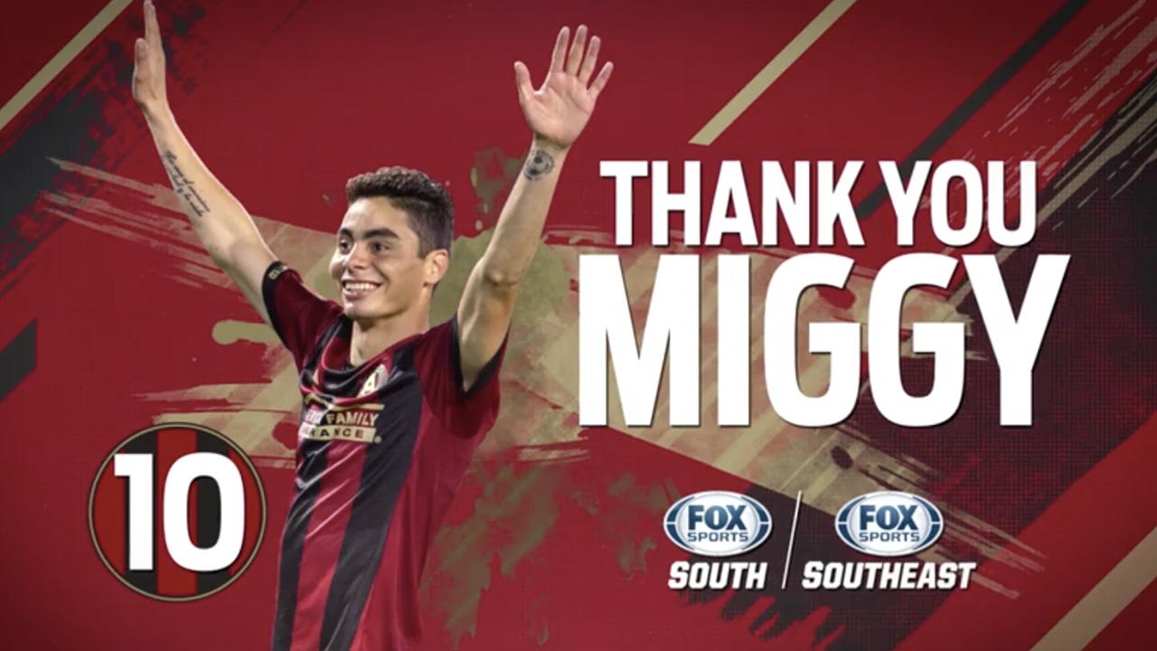 san francisco 037b6 367d3 Miguel Almiron leaves Atlanta United on MLS record transfer deal