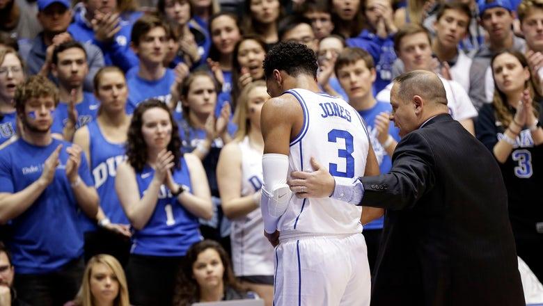 No. 1 Duke loses most irreplaceable player _ guard Tre Jones