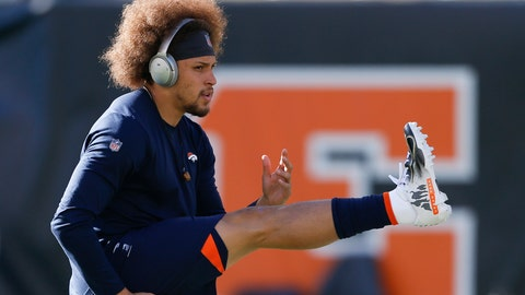 <p>               FILE - In this Dec. 2, 2018, file photo, Denver Broncos running back Phillip Lindsay practices before an NFL football game against the Cincinnati Bengals, in Cincinnati. He didn't get invited to the NFL combine and wasn't selected in the NFL draft. Then, an injury threatened to keep Phillip Lindsay from the spoils of his sensational season, the Pro Bowl. Although he won't be playing, the Denver Broncos rookie running back is attending the league's annual all-star game as a social media correspondent for the league. (AP Photo/Gary Landers, File)             </p>