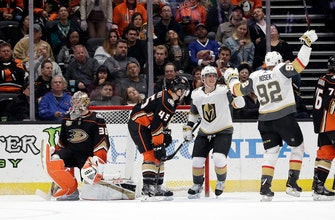 Golden Knights continue hot streak with 3-2 win over Ducks