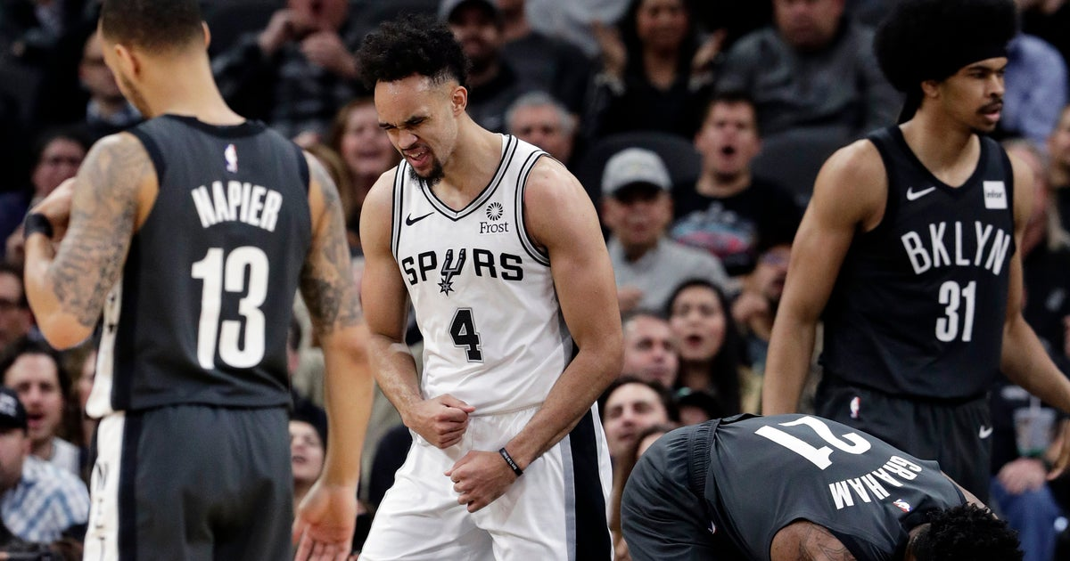 649998968 Derrick White s career night leads Spurs past Nets