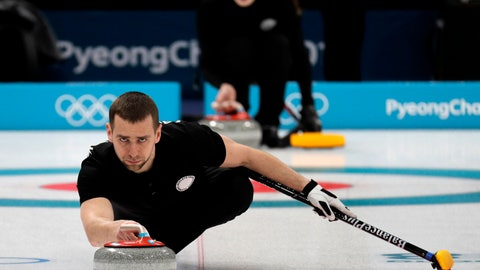 <p>               FILE - In this Feb. 7, 2018 file photo, Russian curler Alexander Krushelnitsky practices ahead of the 2018 Winter Olympics in Gangneung, South Korea. Krushelnitsky's agent, Andrei Mitkov, said in a statement on Friday Jan. 11, 2019, that Alexander Krushelnitsky has dropped plans to appeal against his four-year ban after being stripped of a bronze medal for doping at 2018 Winter Olympics. (AP Photo/Aaron Favila, File)             </p>