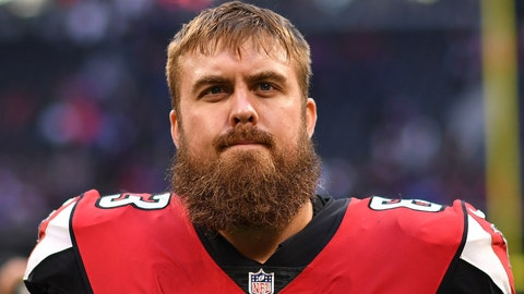 <p>               FILE - In this Dec. 2, 2018, file photo, Atlanta Falcons offensive guard Ben Garland walks off the field after an NFL football game against the Baltimore Ravens in Atlanta. Garland has won the NFL's Salute to Service Award. Garland was recognized Wednesday, Jan. 29, 2019, by the league and USAA for his exceptional efforts to honor and support members of the military community. (AP Photo/Danny Karnik, File)             </p>