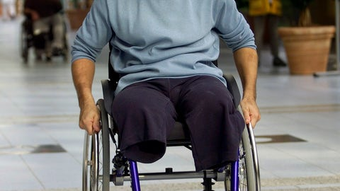 <p>               FILE - In this Oct. 30, 2001, file photo, Italian driver Alex Zanardi proceeds down the aisle of Berlin's Trauma Center, following a press conference on his recuperation. Zanardi lost both legs in an accident at the inaugural American Memorial 500 auto race in Lausitz, Germany. Now 52, Zanardi has seized every moment in the 17 years since and will cross off yet another remarkable achievement this weekend at Daytona International Raceway when he competes in the prestigious Rolex 24 at Daytona endurance race.  (AP Photo/Jockel Finck, File)             </p>