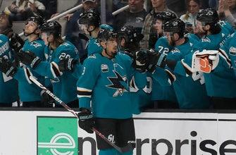 Kane, Donskoi each score 2 goals as Sharks top Oilers 7-2