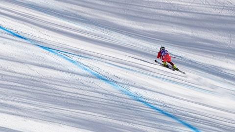 <p>               Austria's Ramona Siebenhofer competes during an alpine ski, women's World Cup downhill in Cortina D'Ampezzo, Italy, Saturday, Jan. 19, 2019. (AP Photo/Marco Trovati)             </p>