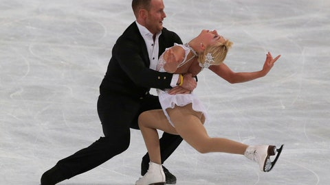 <p>               FILE - In this Nov. 16, 2013, file photo, Caydee Denney, right, and John Coughlin, left, of the United States, perform in the pairs free skate at the ISU Figure Skating Eric Bompard Trophy, at Bercy arena in Paris. Two U.S. Figure Skating executives urged a full investigation into abuse allegations against former skater and coach Coughlin, who killed himself last week. Anne Cammett, president of the federation, and David Raith, USFS executive director, held a news conference at the U.S. Figure Skating Championships on Thursday. Cammett mentioned abuse allegations against Coughlin, but she and Raith did not go into detail. (AP Photo/Michel Euler, File)             </p>