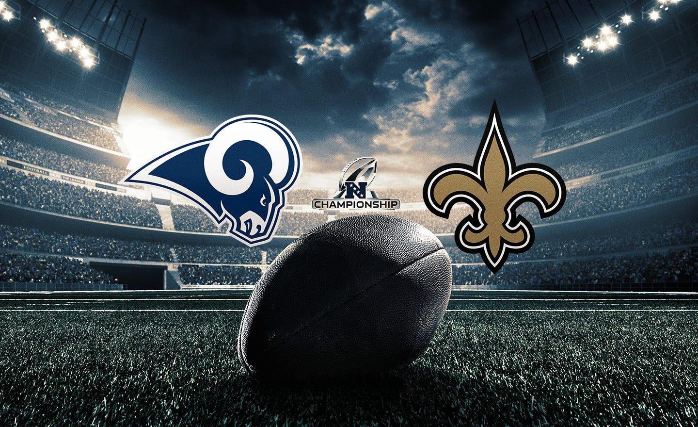 Rams at Saints