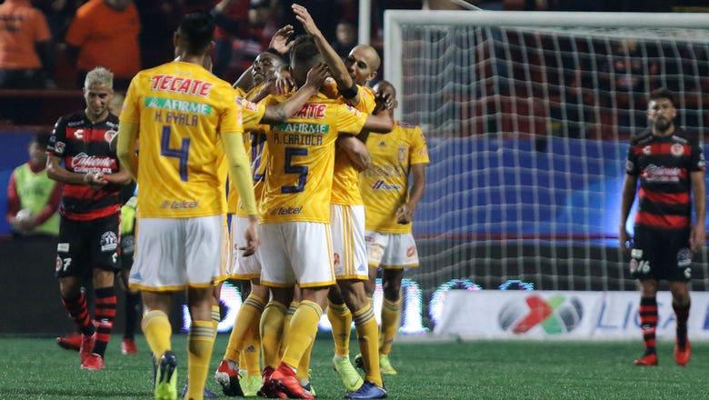 Club Tijuana vs. Tigres UANL   2018-19 Liga MX Highlights