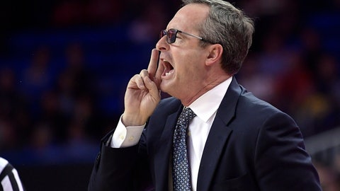 <p>               UCLA interim coach Murry Bartow yells to his team during the first half of an NCAA college basketball game against Stanford on Thursday, Jan. 3, 2019, in Los Angeles. (AP Photo/Mark J. Terrill)             </p>