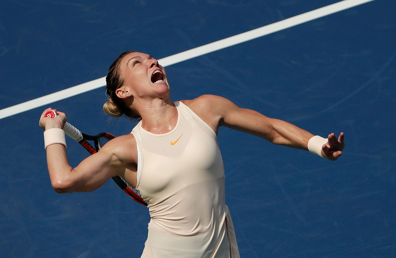 Ash Barty beats No  1 Simona Halep in Romanian's tour return