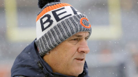 <p>               FILE - In this Dec. 24, 2017, file photo, Chicago Bears defensive coordinator Vic Fangio watches before an NFL football game against the Cleveland Browns, in Chicago. A person with knowledge of the decision tells The Associated Press that Denver Broncos general manager John Elway has decided on Chicago Bears defensive coordinator Vic Fangio as his new head coach. The person spoke on condition of anonymity Wednesday, Jan. 9, 2019, because the team hadn't announced the hiring. (AP Photo/Nam Y. Huh, File)             </p>