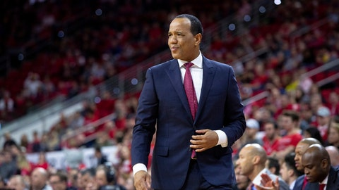 <p>               FILE - In this Dec. 28, 2018, file photo,  North Carolina State head coach Kevin Keatts watches the action during the first half of an NCAA college basketball game against Loyola Maryland, in Raleigh, N.C. North Carolina State has thrived with a deep rotation. Keatts isn't hesitating to go 10 deep and the Wolfpack finds themselves ranked in the Top 25. (AP Photo/Ben McKeown, File)             </p>