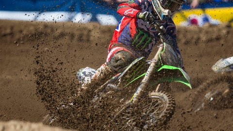 <p>               FILE - In this July 1, 2017, file photo, Eli Tomac competes in the Moto 2 race during the RedBud National Lucas Oil Pro Motocross Championship at the RedBud MX track in Buchanan, Mich. Since Ryan Dungey's retirement, riders like defending series champion Jason Anderson, Tomac, Ken Roczen and Marvin Musquin have taken the reins and led Supercross into the future. (Michael Caterina/South Bend Tribune via AP, File)             </p>