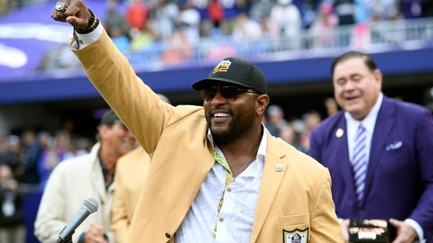 <p>               FILE - In this Sept. 23, 2018, file photo, former Baltimore Ravens linebacker Ray Lewis displays his Hall of Fame ring of excellence that he received at a halftime ceremony during an NFL football game between the Ravens and the Denver Broncos, in Baltimore. Lewis is using the celebrity spotlight which will accompany Super Bowl 53 to bring exposure to his Ray of Hope Foundation.  Lewis is throwing a big-ticket party, expected to attract dozens of sports and entertainment stars, to raise money for the foundation. (AP Photo/Nick Wass, File)             </p>